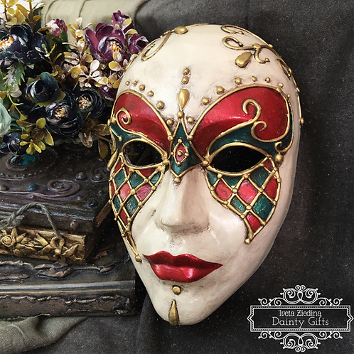Venetian Mask Workshop (RECORDING)