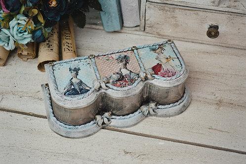 Marie Antoinette Jewellery/Keepsake Box