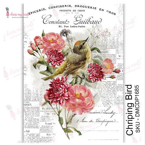 Chirping Bird - Transfer Me by Dress My Craft