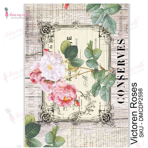 Victoren Roses  - Transfer Me by Dress My Craft
