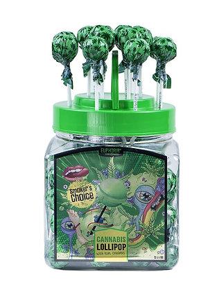 Cannabis Lollipops mit Hanfaroma per Stk