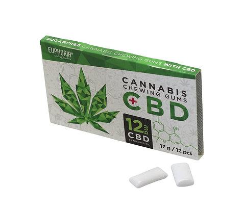 CBD Chewing Gums mit 12mg CBD