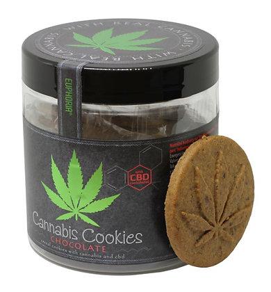 Cannabis Schokolade Cookies mit CBD