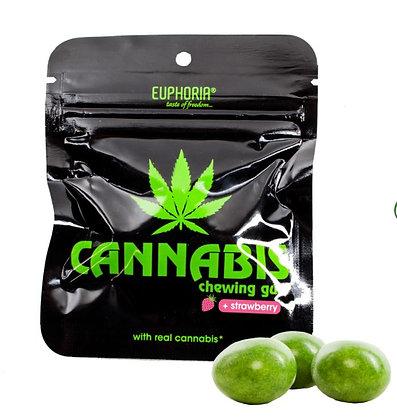 Cannabis Kaugummi Erdbeergeschmack