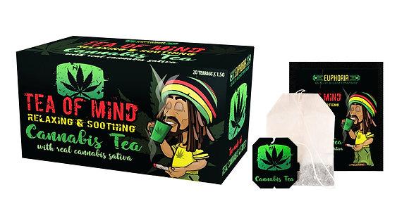 Cannabis Tea of Mind mit echtem Cannabis Sativa