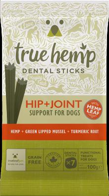TRUE HEMP™ ZAHNPFLEGESTICKS • HIP & JOINT