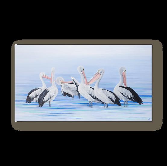 The Pelican Brief Original Oil Painting