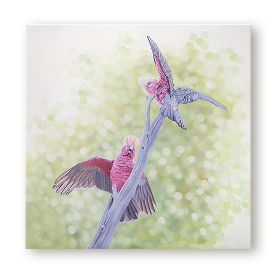 Wings Outstretched Original Oil Painting