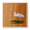 Thumbnail: Egret of Elegance Original Oil Painting
