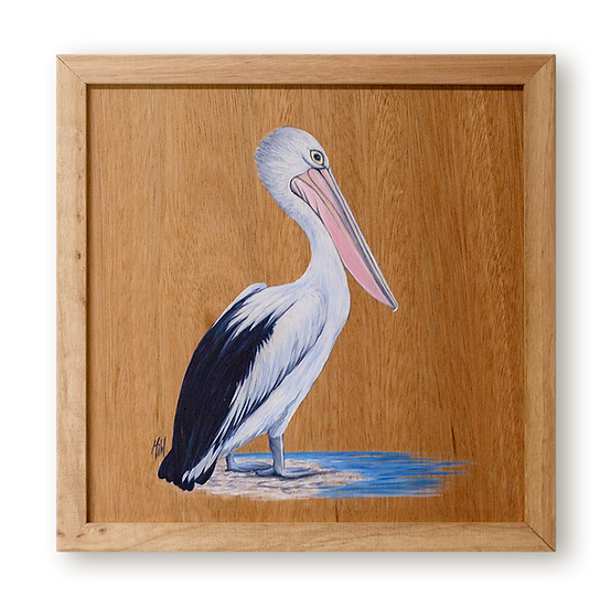 Pelican on Point Original Oil Painting