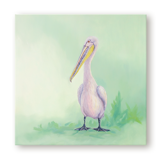 Pelican Original Oil Painting
