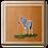 Thumbnail: Baby Stripes Original Oil Painting