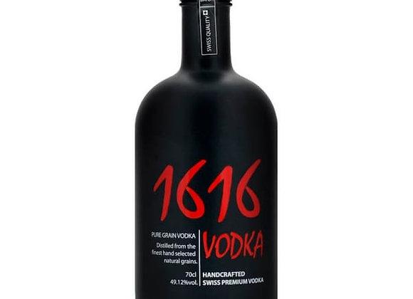 1616 Vodka Premium Black Edition 70cl