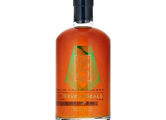 Seven Seals Peated Single Malt Port Wood Whisky 70cl, 46% vol
