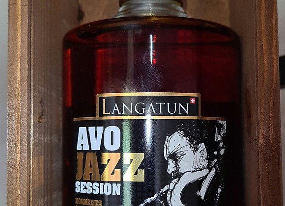 Langatun Whisky AVO Jazz 50cl avec Coffret en bois