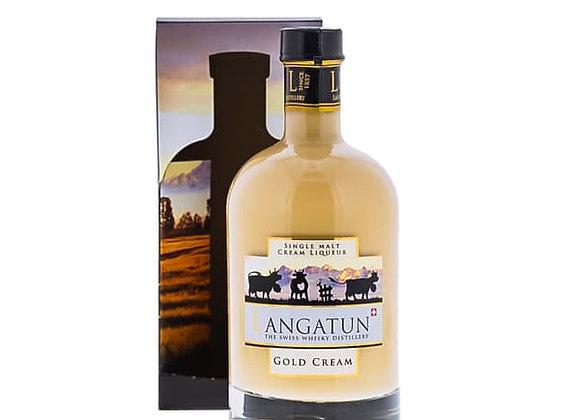 Langatun Gold Cream Single Malt Cream Liqueur 50cl  18% Vol.Alc.