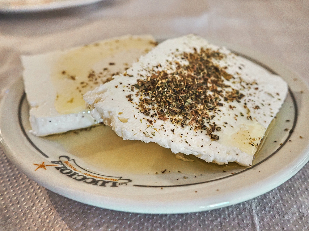Feta, queso, cabra, oveja, Grecia, plato, cocina, gastronomía