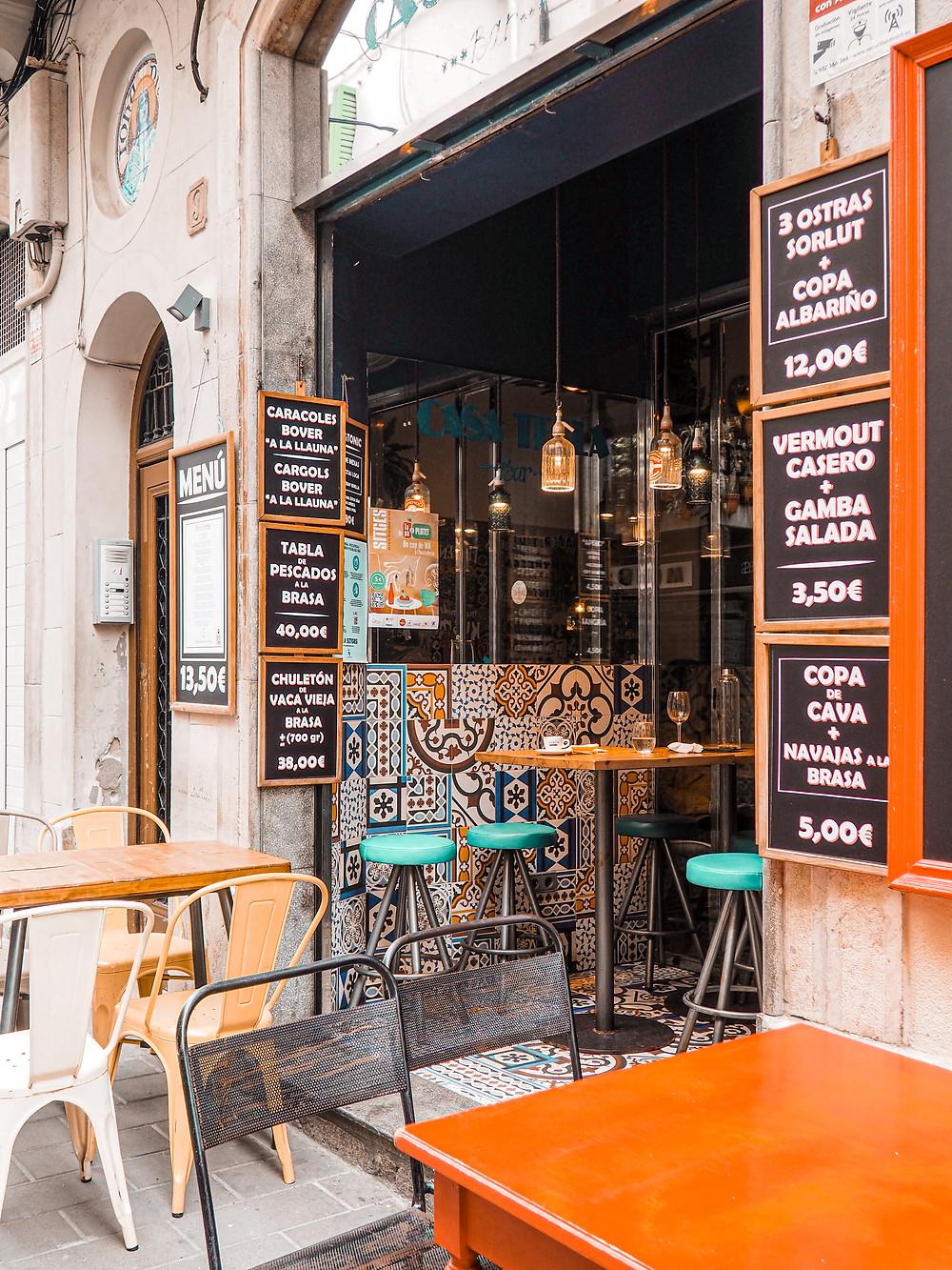 Casa Tecla, Sitges, Restaurantes, Gastrocuentos, modernismo