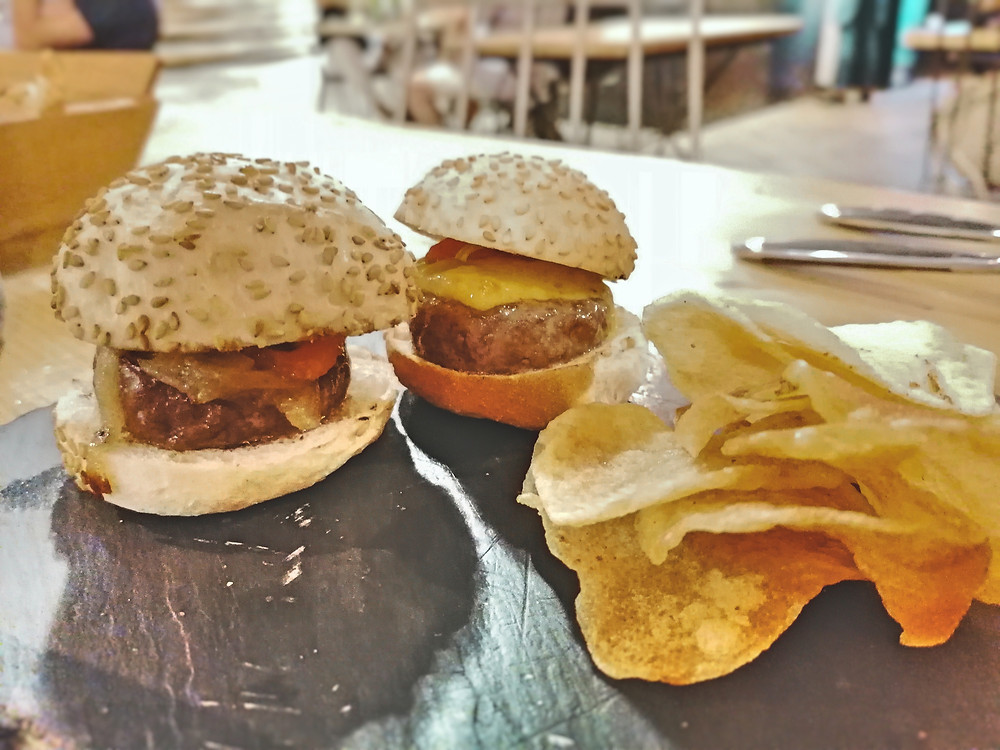 hamburguesas, wagyu, carne, Sitges, restaurante