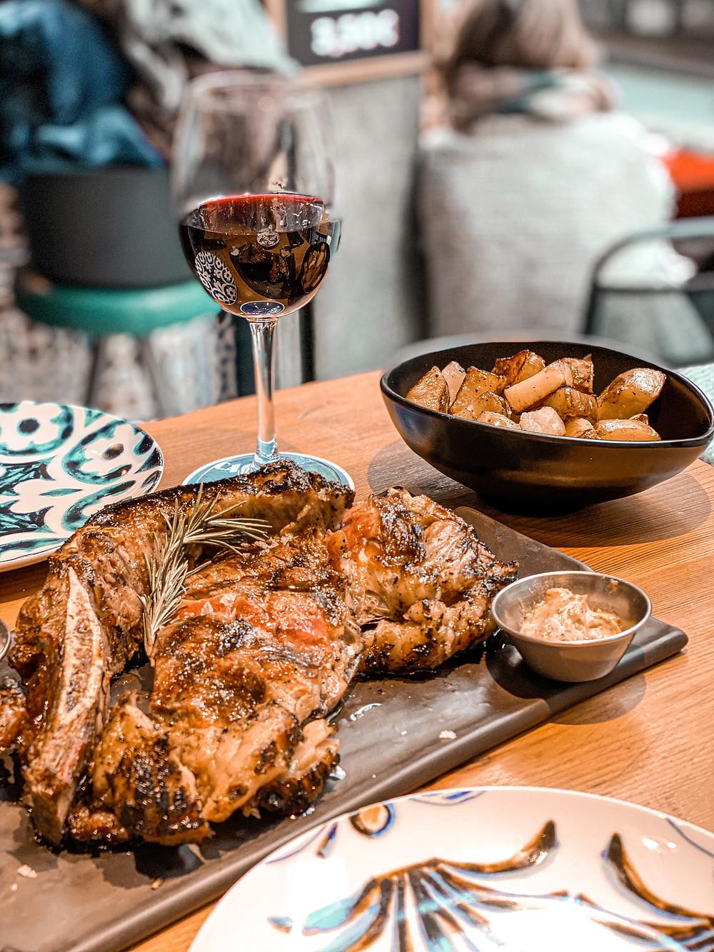 Casa Tecla, Sitges, Restaurantes, Gastrocuentos, chuletón de vaca vieja, horno Josper