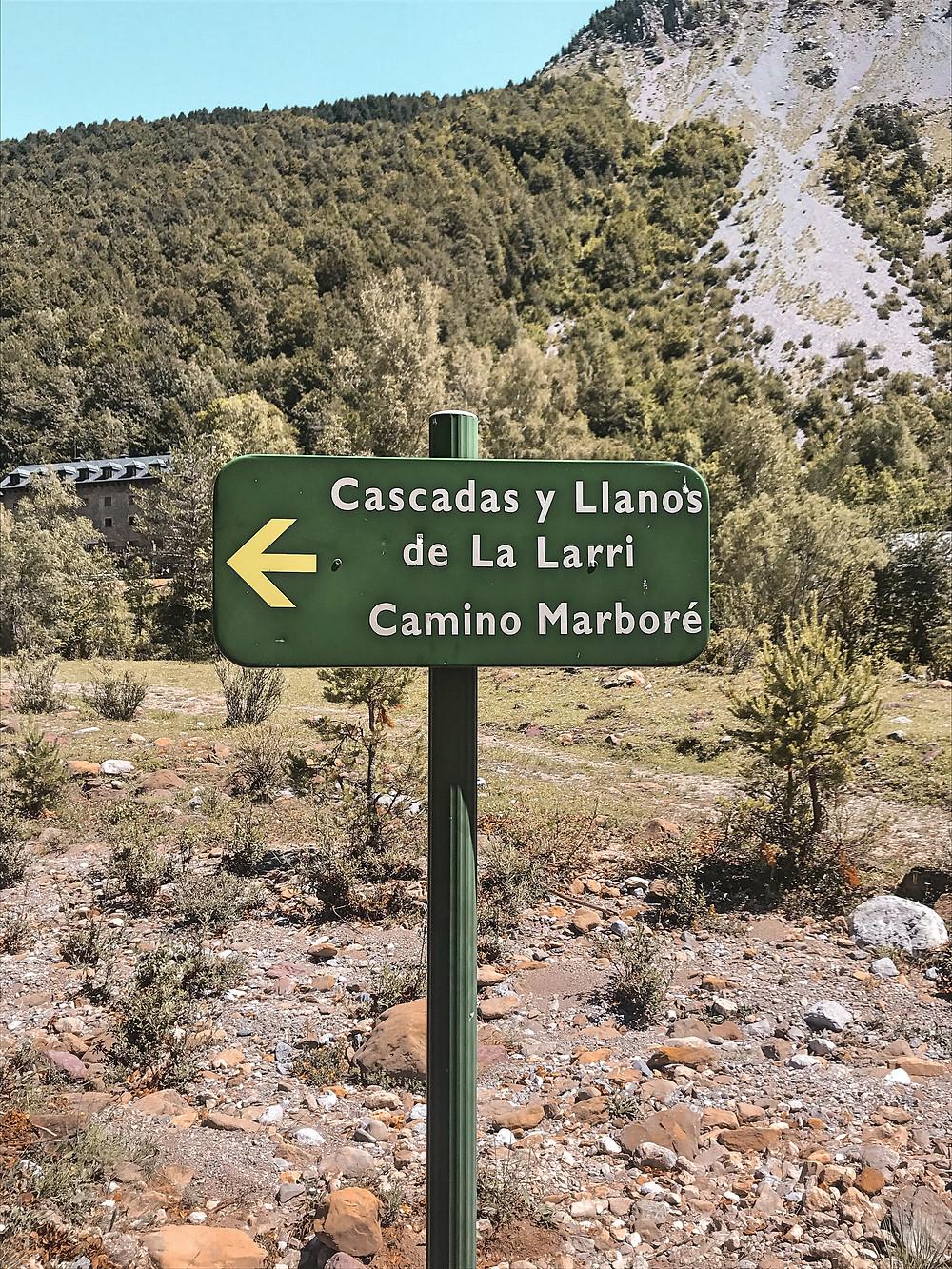 montaña, naturaleza, Aragón, senderismo, ruta, Pirineo