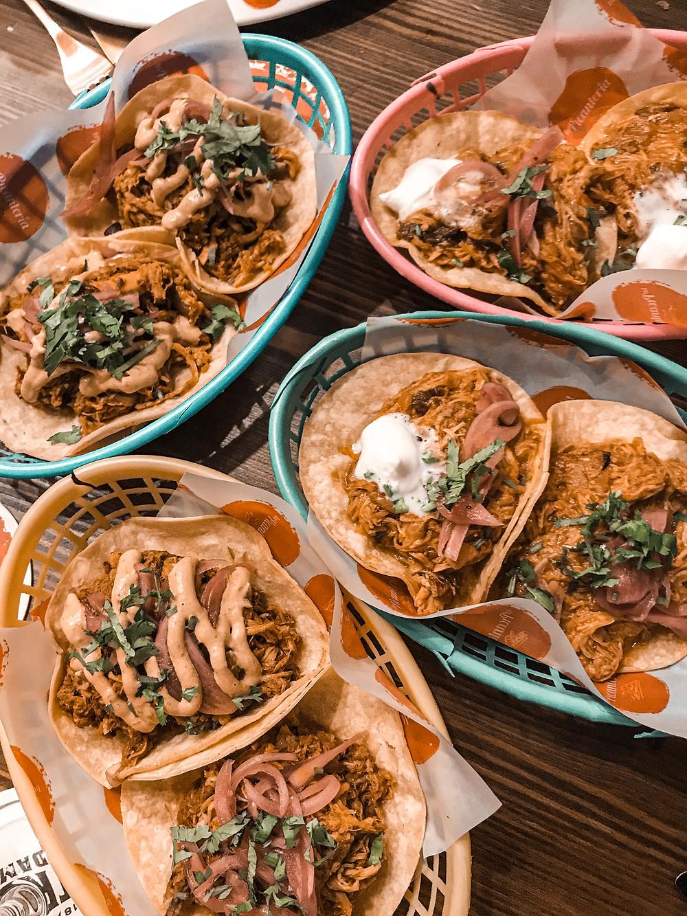 tacos, cochinita pibil, México, carne, cerdo