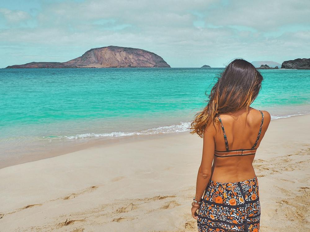 playa, isla, paisaje, azul, agua, verano