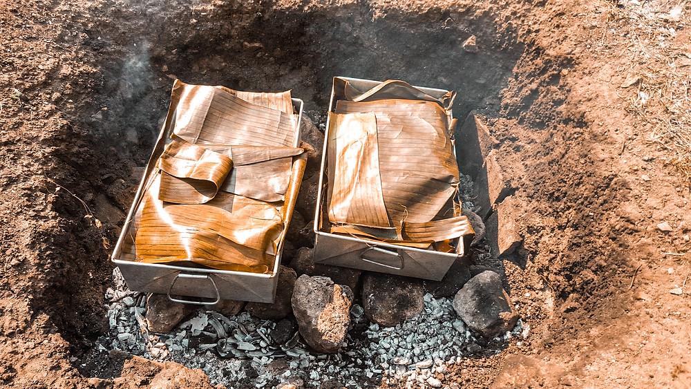 horno, México, cochinita pibil, tradición