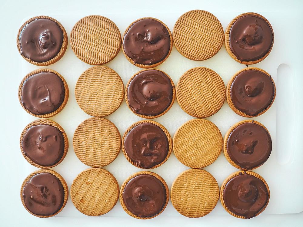 galletas, chocolate, receta, repostería, casera, abuela