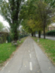 belvedere reggio emilia pista ciclo pedonale