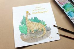 Tableau animal - dinosaure