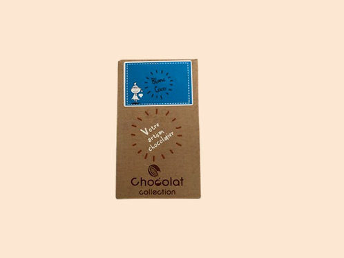 Tablette chocolat blanc coco 70gr