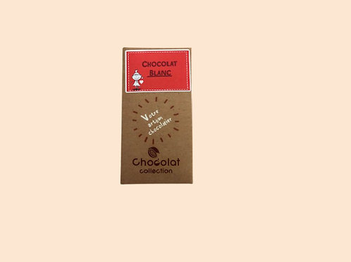 Tablette chocolat blanc 70gr