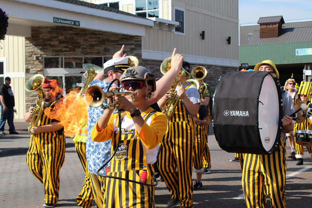 Flaming 'Rumpet, Parade of Nations, 2019