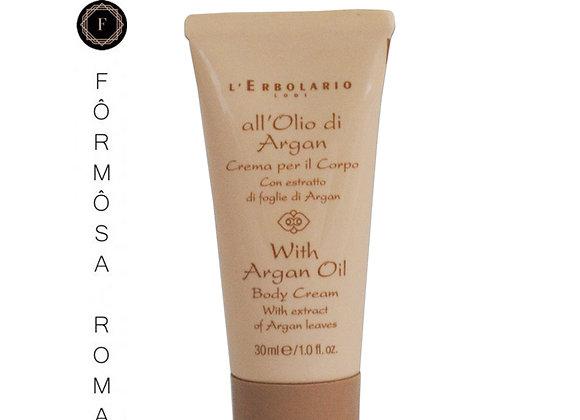 Crema per il Corpo All'Olio di Argan – Minitaglia 30 ml