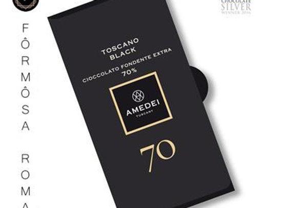 Toscano Black 70托斯尼卡莊園黑巧克力Bar