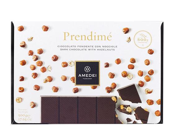 Prendimé 500g - Cioccolato fondente con nocciole - Amedei