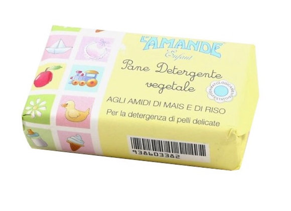 L'amande Enfant Pane Detergente Vegetale 100g - 小朋友肥皂