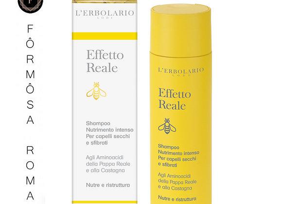 Effetto Reale Shampoo nutrimento intenso 200 ml 蜂王漿潤澤洗髮精(