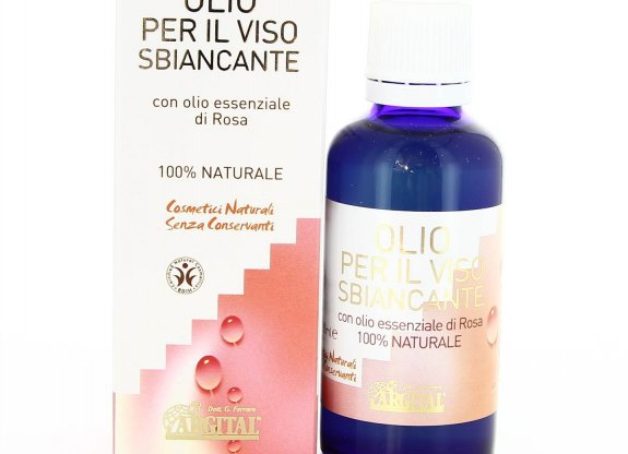 Argital olio sbiancante alla Rosa 柔淨白皙調理複方精油 50ml ブライトニング ローズ フェイスオイル