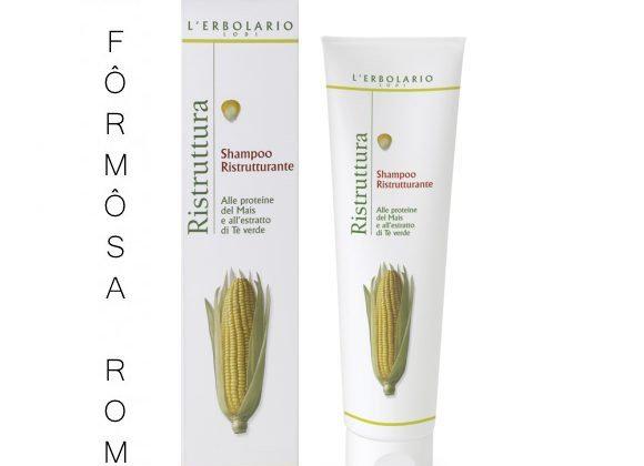 Shampoo Ristrutturante Alle proteine del Mais e all' estratto di Tè Verde 150 ml