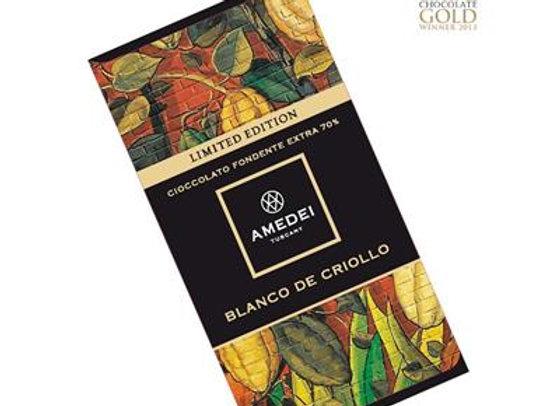 Amedei Blanco de Criollo白瓷克里歐限量莊園黑巧克力Bar