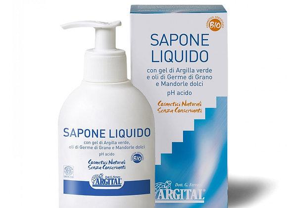 Argital Liquid Soap 天然綠泥精油潔膚乳 250ml 아르지탈
