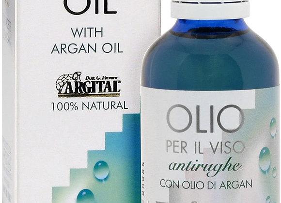 Argital Olio viso antirughe 15 ml 撫平歲月調理複方精油 アンチ W フェイスオイル