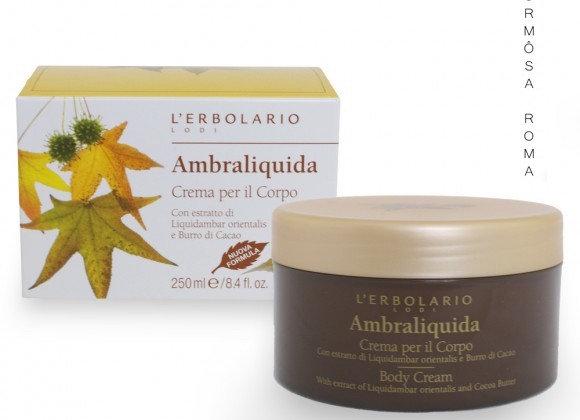 Ambraliquida Crema per il Corpo 250ml 楓香身體潤膚霜