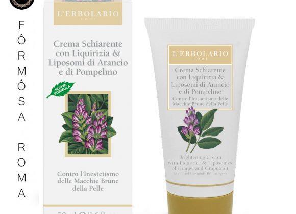 Crema Schiarente alla Liquirizia 50 ml 甘草嫩白滋養霜