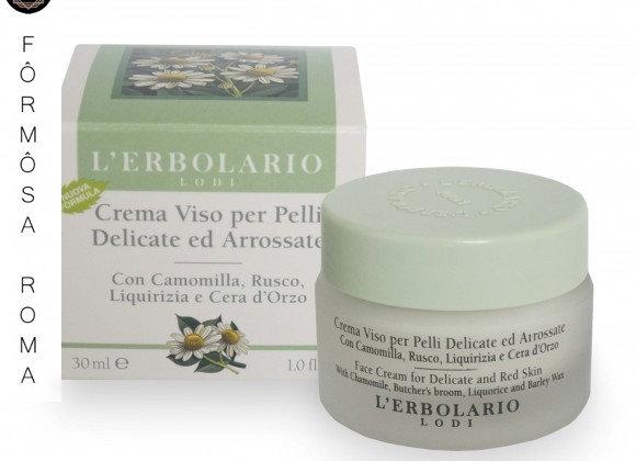 Crema Viso per Pelli Delicate e Arrossate