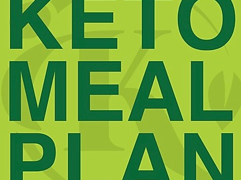 Ketogenic Meal Plan- 15 meals (includes breakfast)