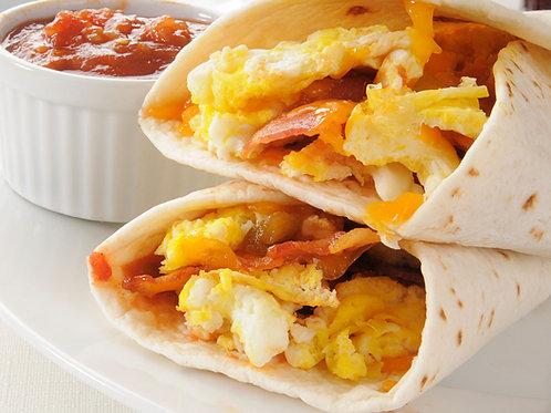 Breakfast Burrito (480 cals)