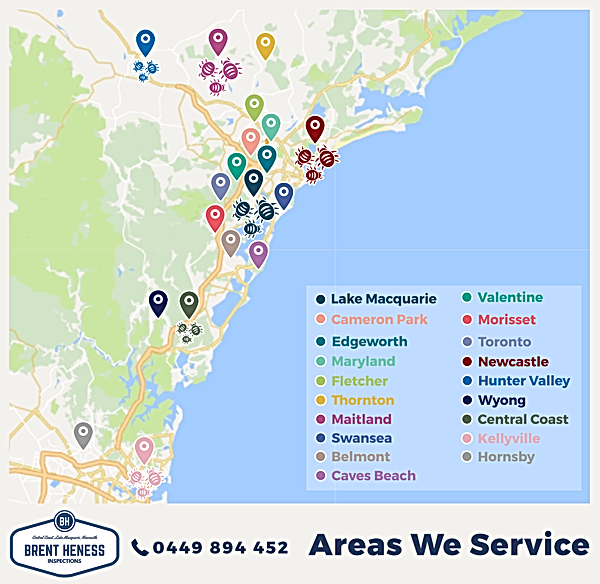 Brent Heness Inspections - Areas We Service